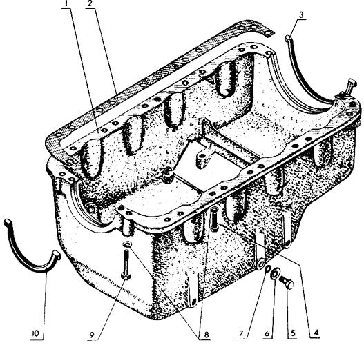 Топливный бак Трактор МТЗ 80 - ЯМЗ