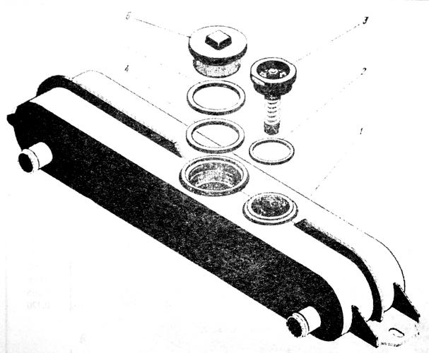 Бак расширительный двигателя ЯМЗ-238 НБ Трактор К 700 A