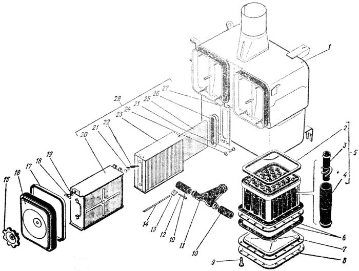Воздухоочиститель Трактор К 700 A
