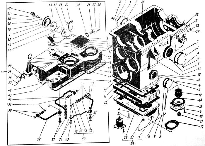 Картер коробки передач Трактор К 700 A