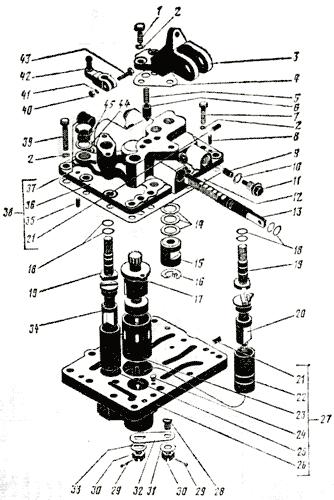 Механизм переключения передач Трактор К 700 A