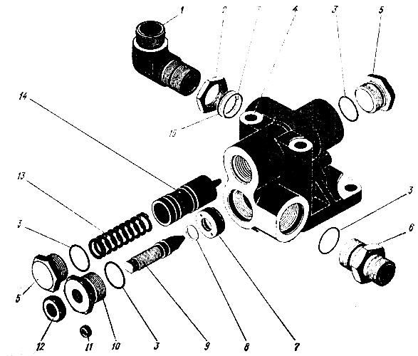 Регулятор расхода Трактор К 700 A