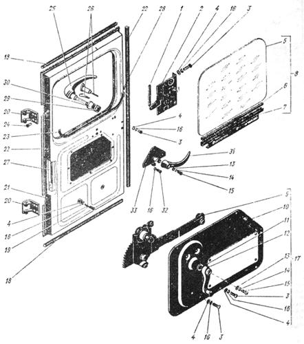Дверь правая Трактор К 700 A