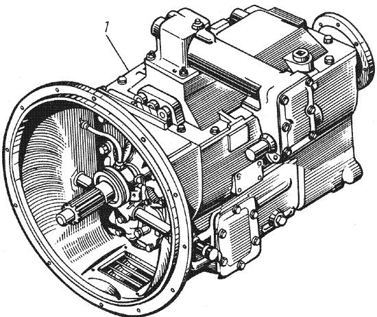 ЯMЗ 236 M : Коробка передач