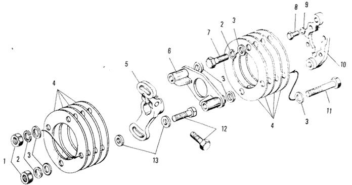 ЯMЗ 240 ПM2 : Привод топливного насоса высокого давления
