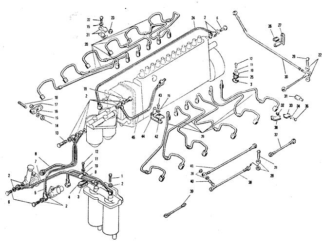 ЯMЗ 240 ПM2 : Топливный насос высокого давления