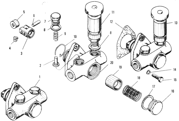 ЯMЗ 240 ПM2 : Топливоподкачивающий насос