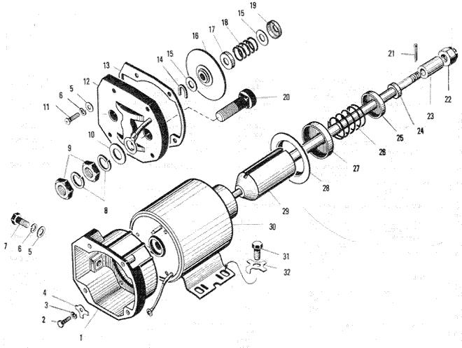 ЯMЗ 240 ПM2 : Реле стартера