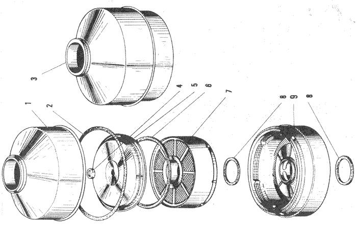 ЯМЗ 240 БМ2 Воздушный фильтр