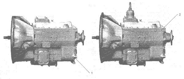 ЯMЗ 236 HE2 : Коробка передач