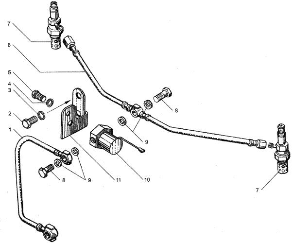 ЯMЗ 236 БE2 : Электрофакельное устройство