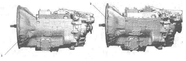 ЯMЗ 236 БE2 : Коробка передач