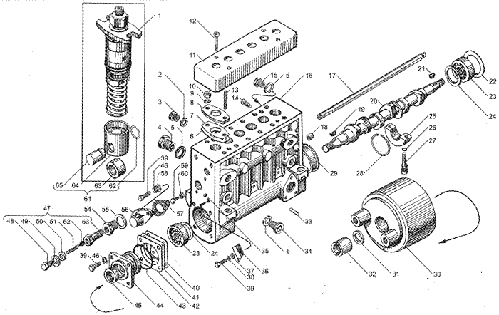 """""""Топливный насос высокого давления двигателей ЯМЗ-236НЕ, ЯМЗ-236БЕ."""