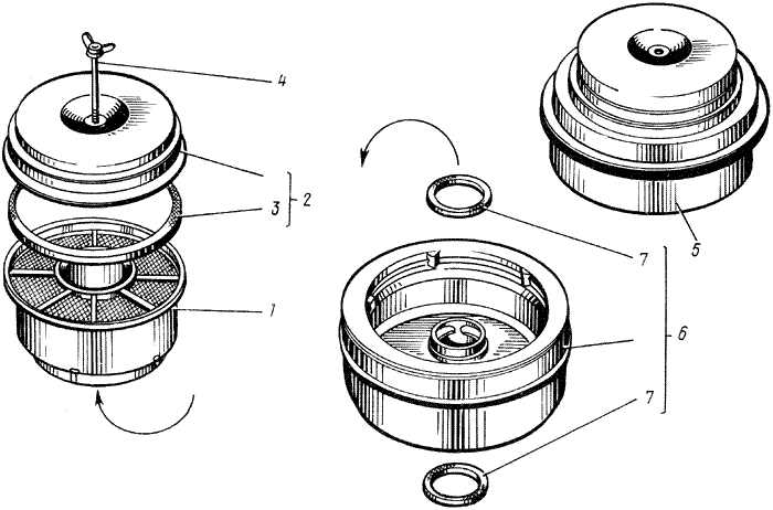ЯMЗ 238 M : Воздушный фильтр