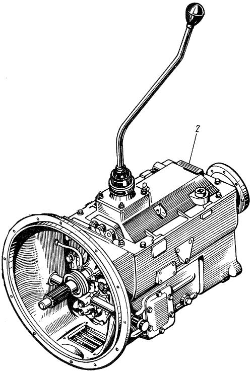 ЯMЗ 238 M : Коробка передач