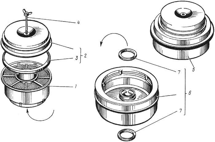 ЯMЗ 238 ИM : Воздушный фильтр