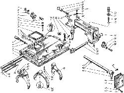 ЯМЗ 236 М Механизм переключения передач