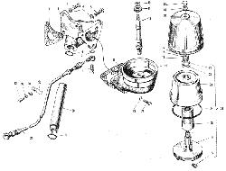 ЯМЗ 240 НМ2 Фильтр центробежной очистки масла
