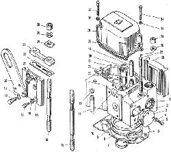 ЯМЗ 240 НМ2 Головка цилиндров