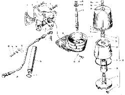 ЯМЗ 240 ПМ2 Фильтр центробежной очистки масла