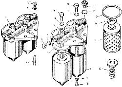 ЯМЗ 240 ПМ2 Фильтр тонкой очистки топлива
