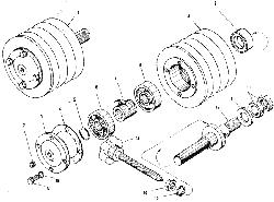 ЯМЗ 240 БМ2 Привод вентилятора