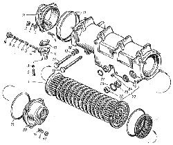 ЯМЗ 8401.10 Водомасляный радиатор