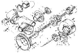 ЯМЗ 8401.10 Турбокомпрессор К-36
