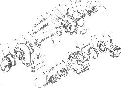 ЯМЗ 8401.10 Турбокомпрессор ТКР-11