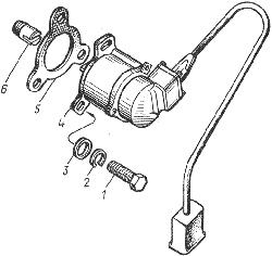 ЯМЗ 8401.10 Привод датчика тахометра