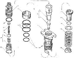 ЯМЗ 7511.10 Секция топливного насоса высокого давления