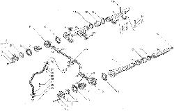 ЯМЗ 7511.10 Водяные трубки и термостаты системы охлаждения, для двигателей с индивидуальными головками цилиндра