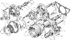 ЯМЗ 236 НЕ Включатель муфты привода вентлятора