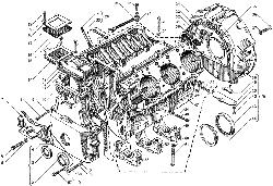 ЯMЗ 236 БE : Блок цилиндров