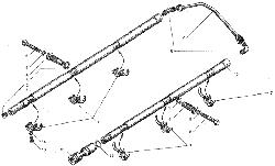 ЯMЗ 236 БE : Система охлаждения поршней маслом