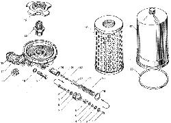 ЯMЗ 236 БE : Фильтр масляный