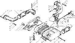 ЯMЗ 236 БE : Теплообменник жидкостно-масляный