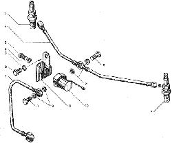 ЯMЗ 236 БE : Электрофакельное устройство