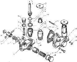 ЯMЗ 236 БE : Насос топливоподкачивающий