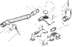 ЯMЗ 236 БE : Коллектры впускные