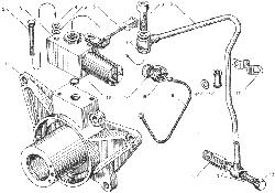 ЯMЗ 236 БE : Электромагнитный клапан привода вентилятора