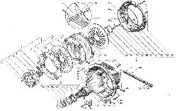 ЯMЗ 236 БE : Сцепление ЯМЗ-183