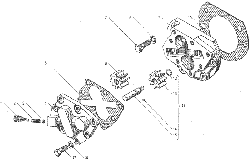 ЯMЗ 236 БE : Масляный насос коробки передач