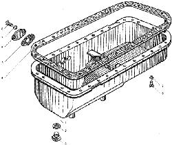 ЯMЗ 236 БE : Картер масляный