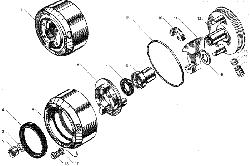 ЯМЗ 236 БЕ Водяные трубы и термостаты