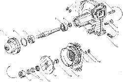 ЯМЗ 236 БЕ Устройство натяжное ремня привода водяного насоса