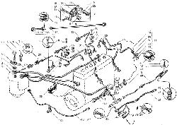 ЯМЗ 236 БЕ2 Топливные трубопроводы