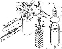 ЯМЗ 7601.10 Теплообменник жидкостно-масляный