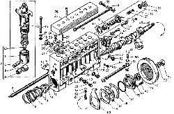 ЯМЗ 7601.10 Секция ТНВД