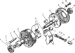 ЯМЗ 7601.10 Водяные трубы и термостаты